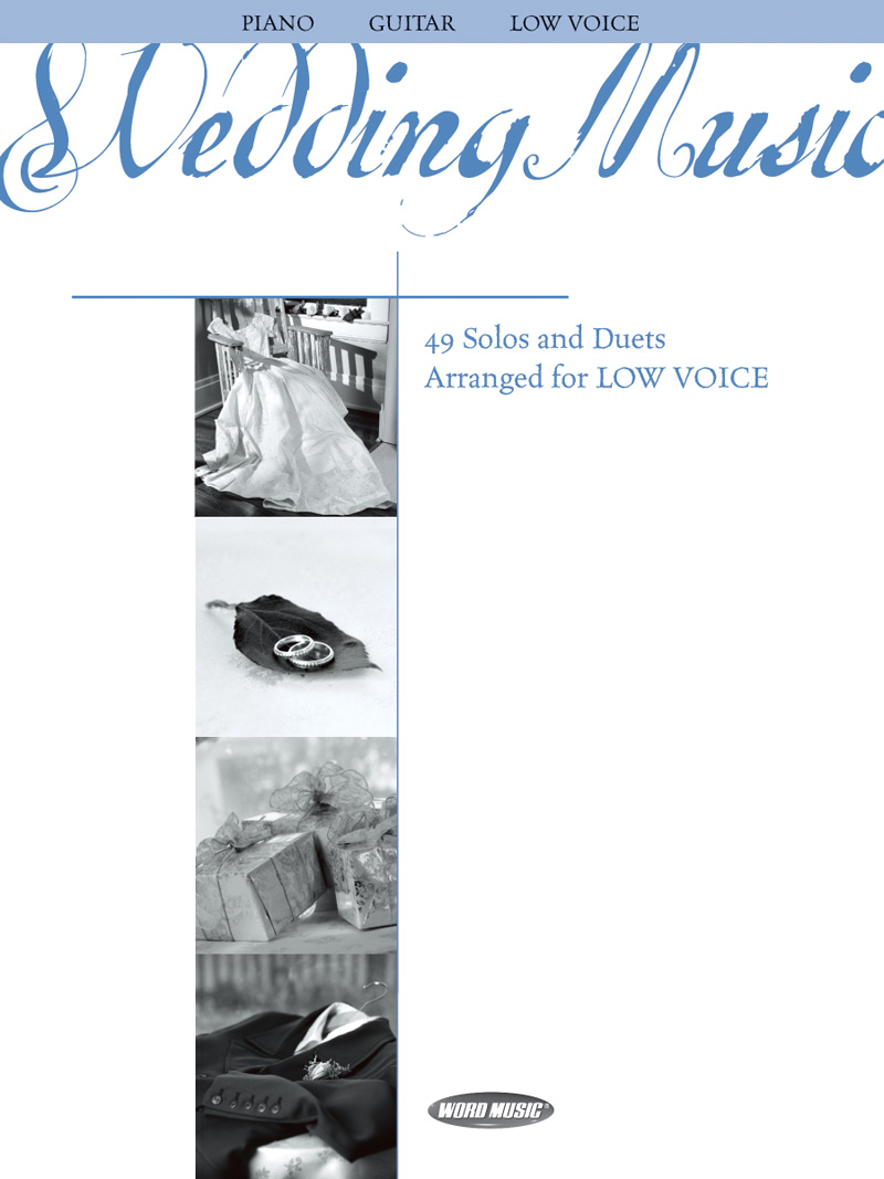 Wedding Music Vocal Solo Songbook (Low Voice)