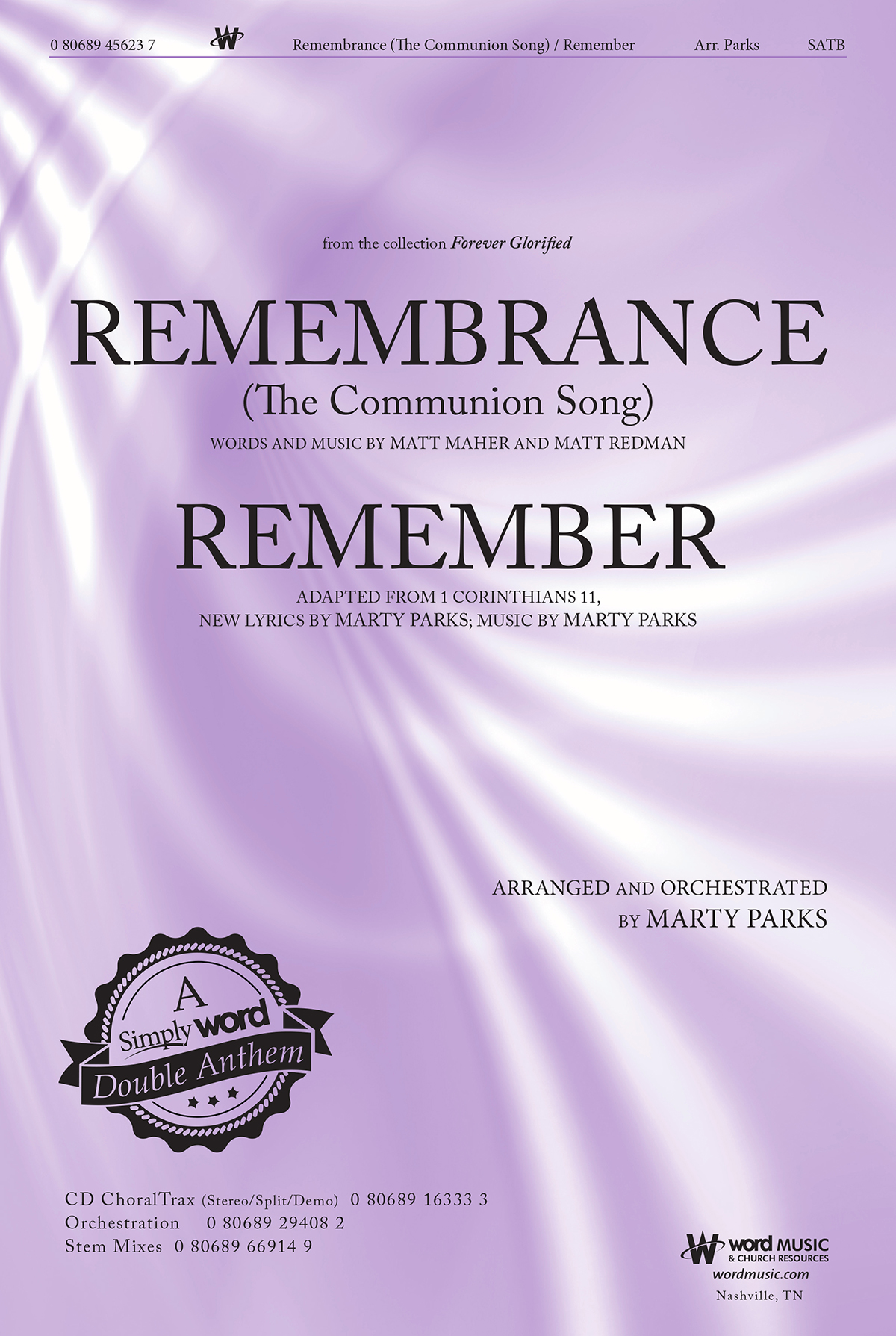 Remembrance (The Communion Song) and Remember