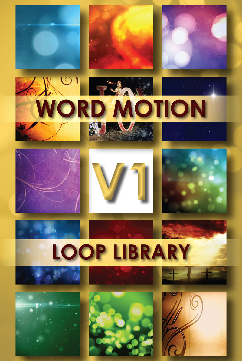 Word Motion Loop Library Vol 1