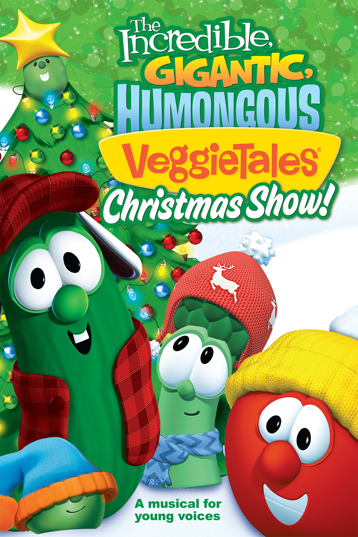 The Incredible, Gigantic, Humongous Veggietales Christmas Show