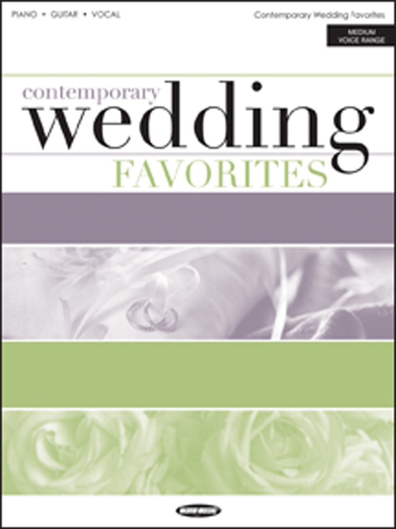 Contemporary Wedding Favorites