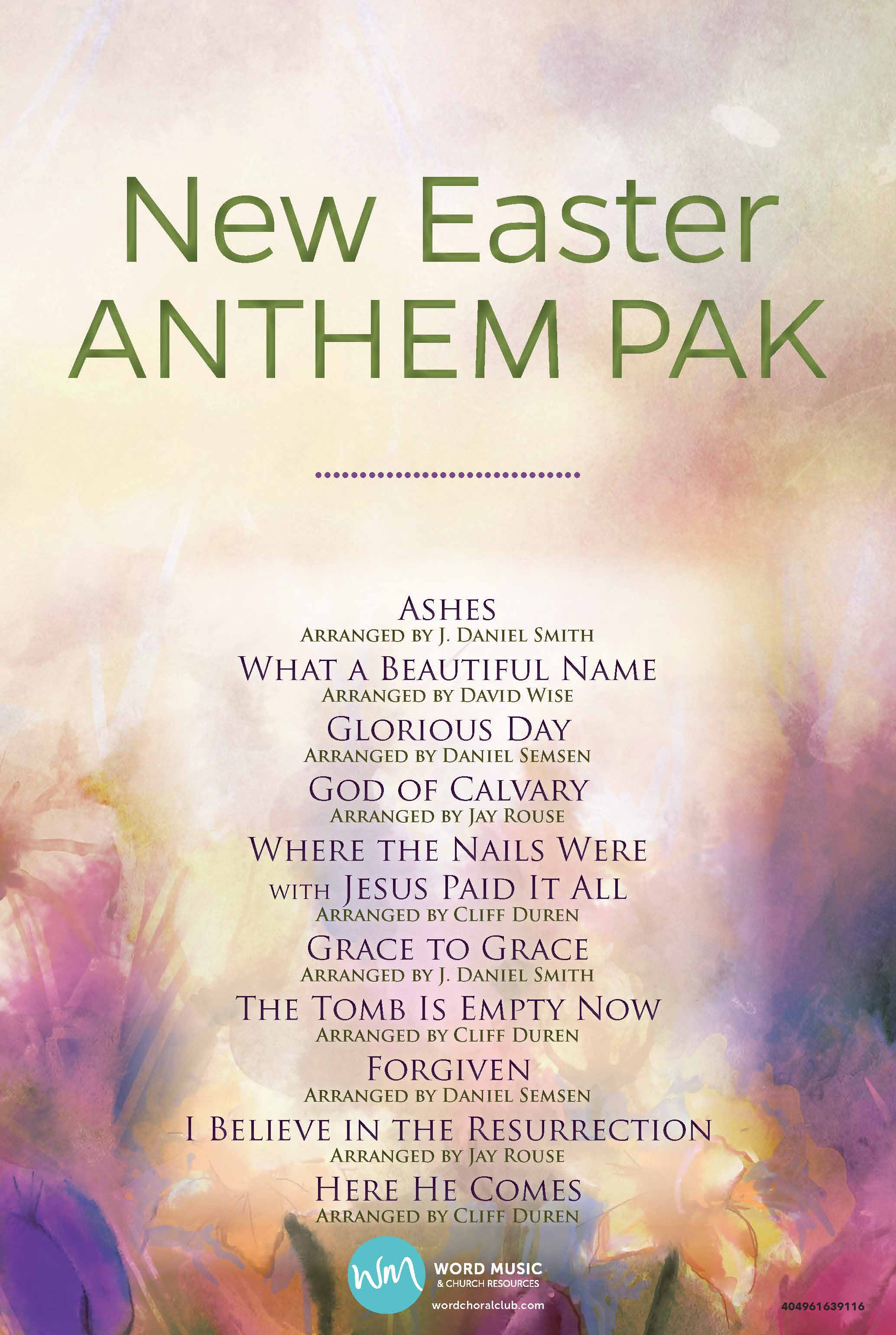 New Easter Anthem Pak Vol 1