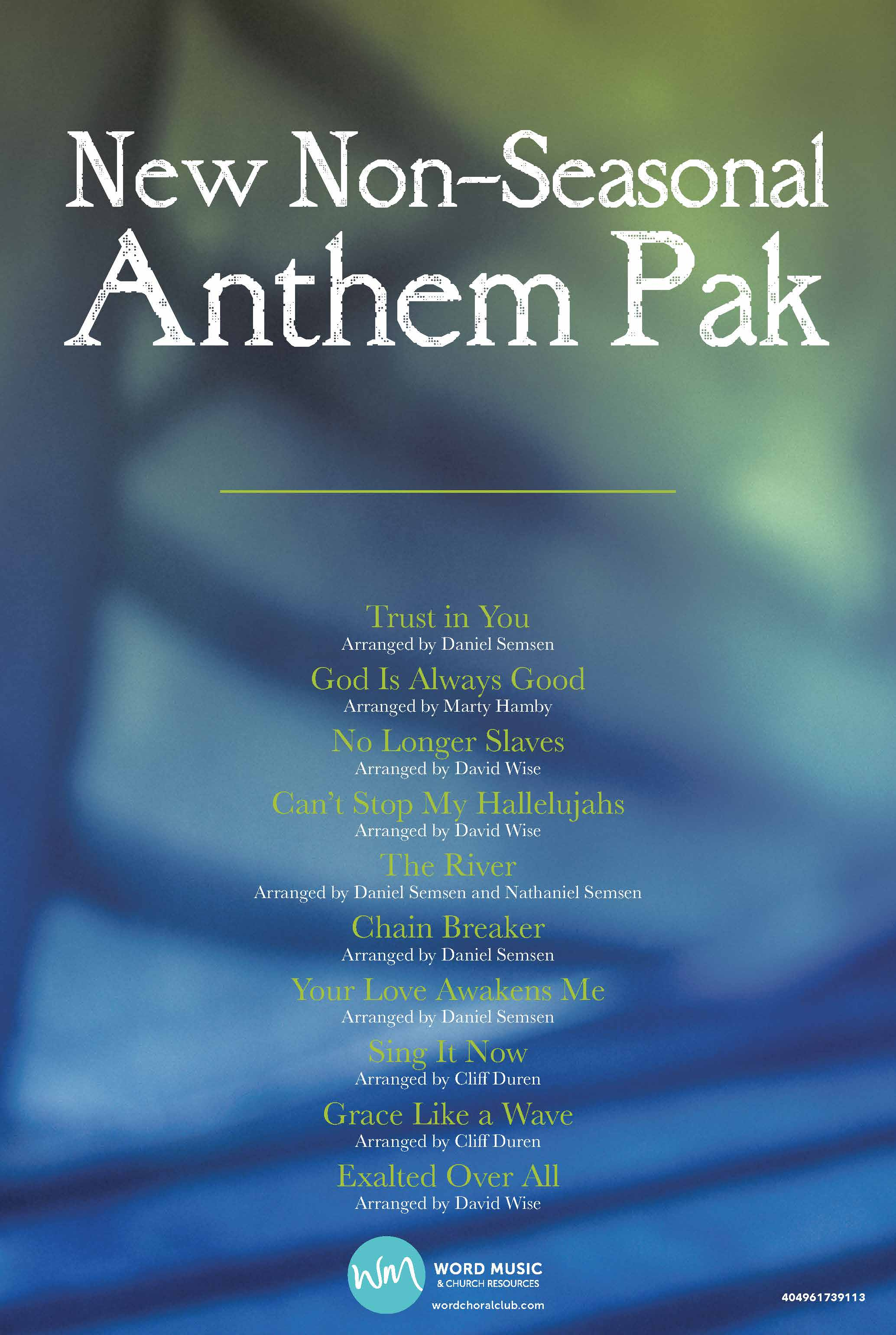 New Non-Seasonal Anthem Pak Vol 1
