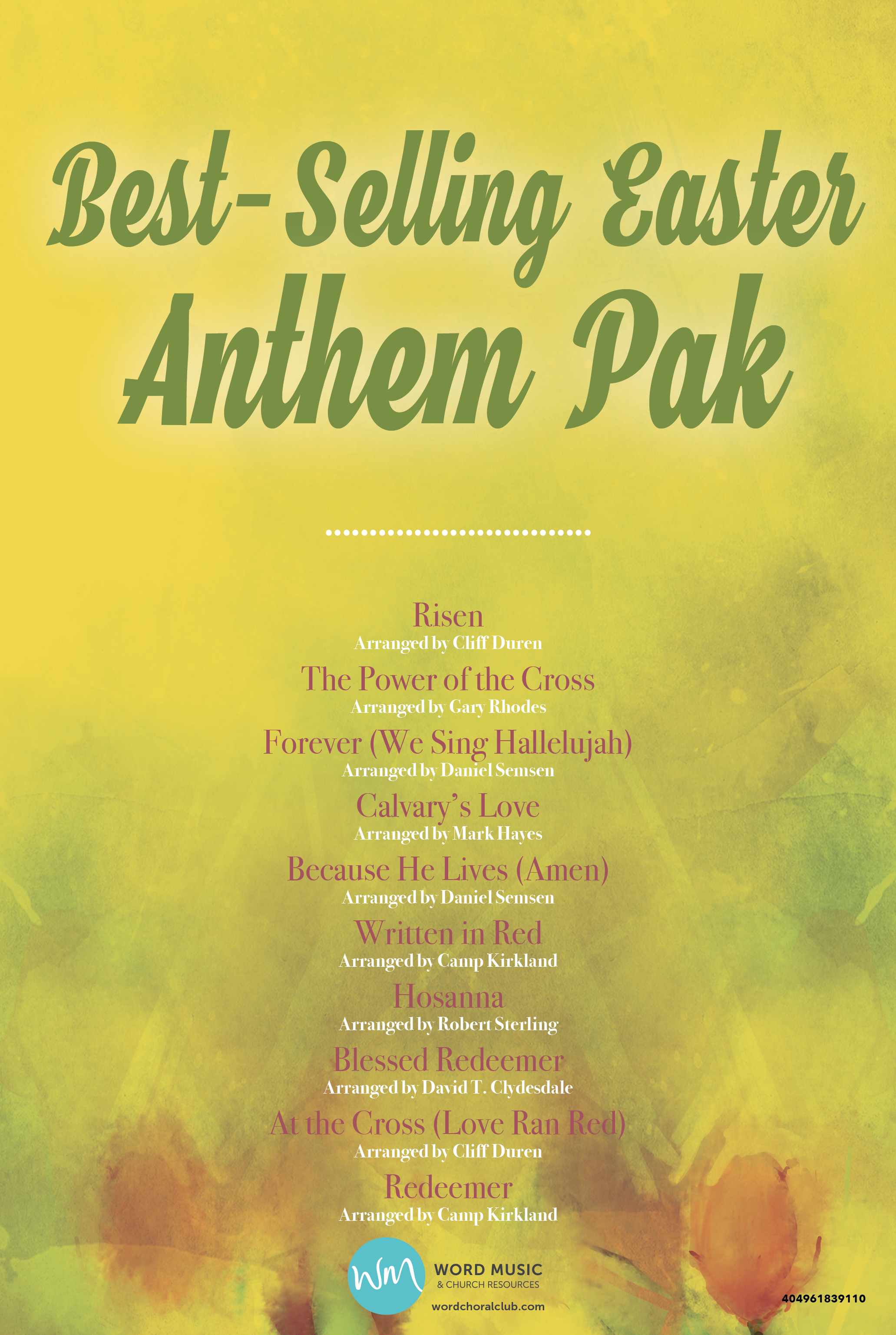 Best-Selling Easter Anthem Pak Vol 1