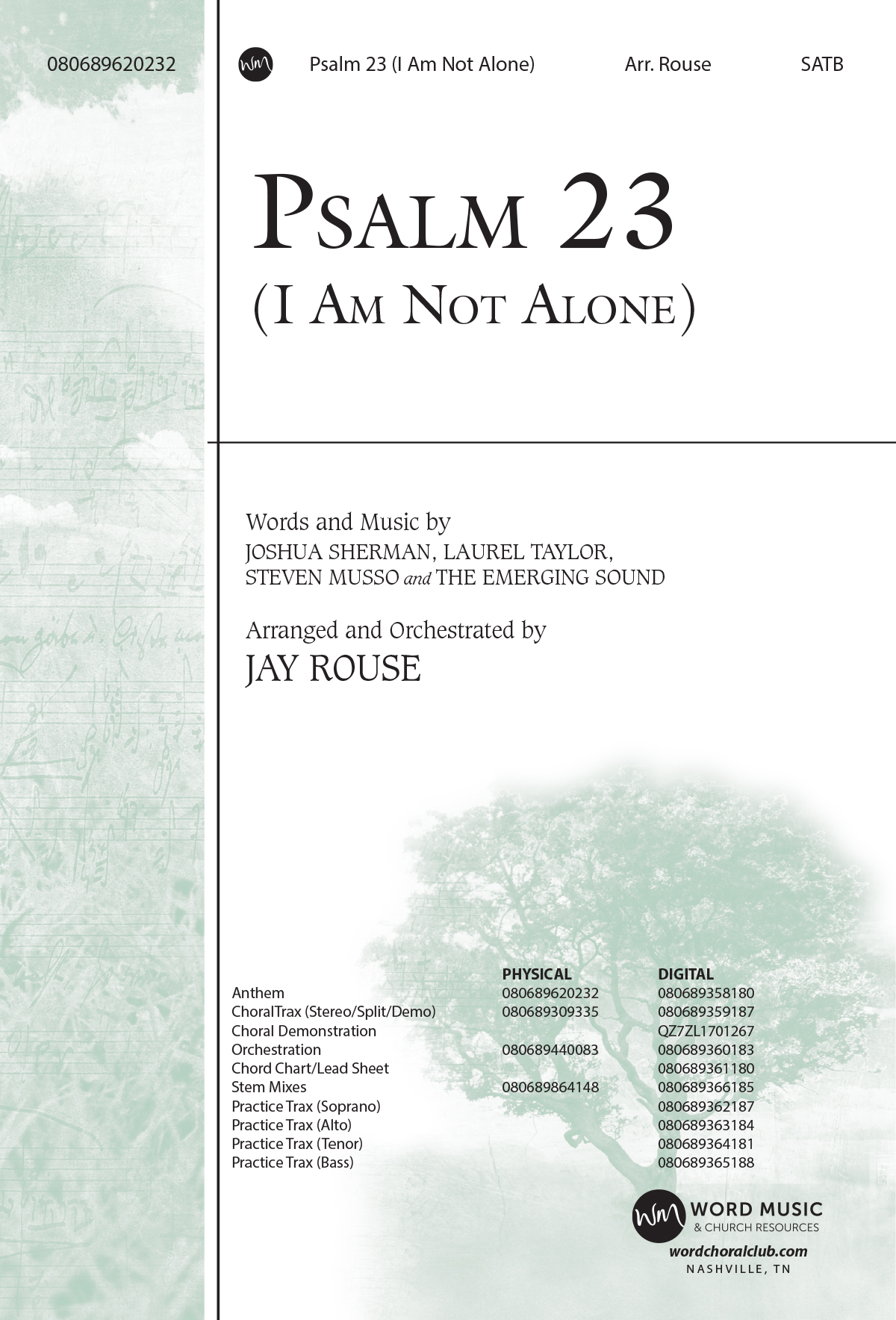 Psalm 23 (I Am Not Alone)