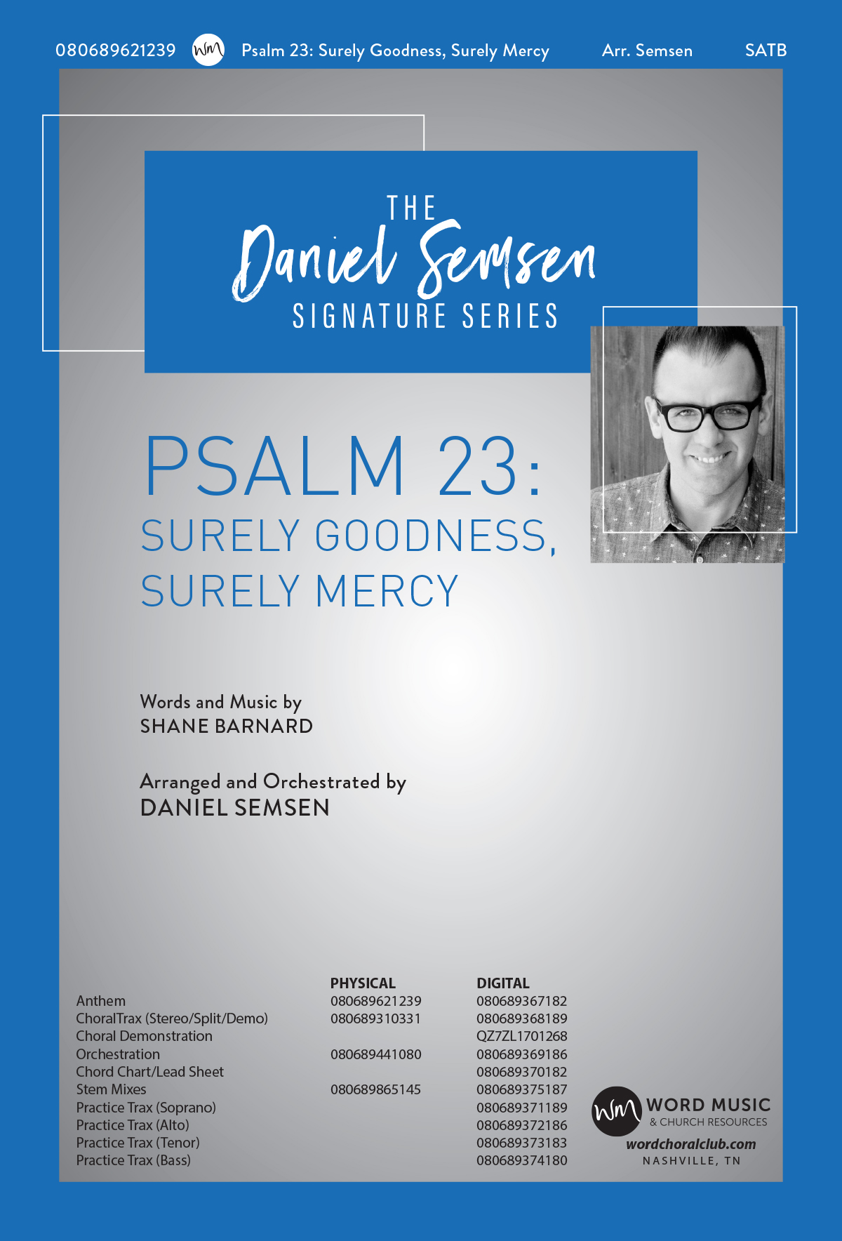 Psalm 23: Surely Goodness, Surely Mercy