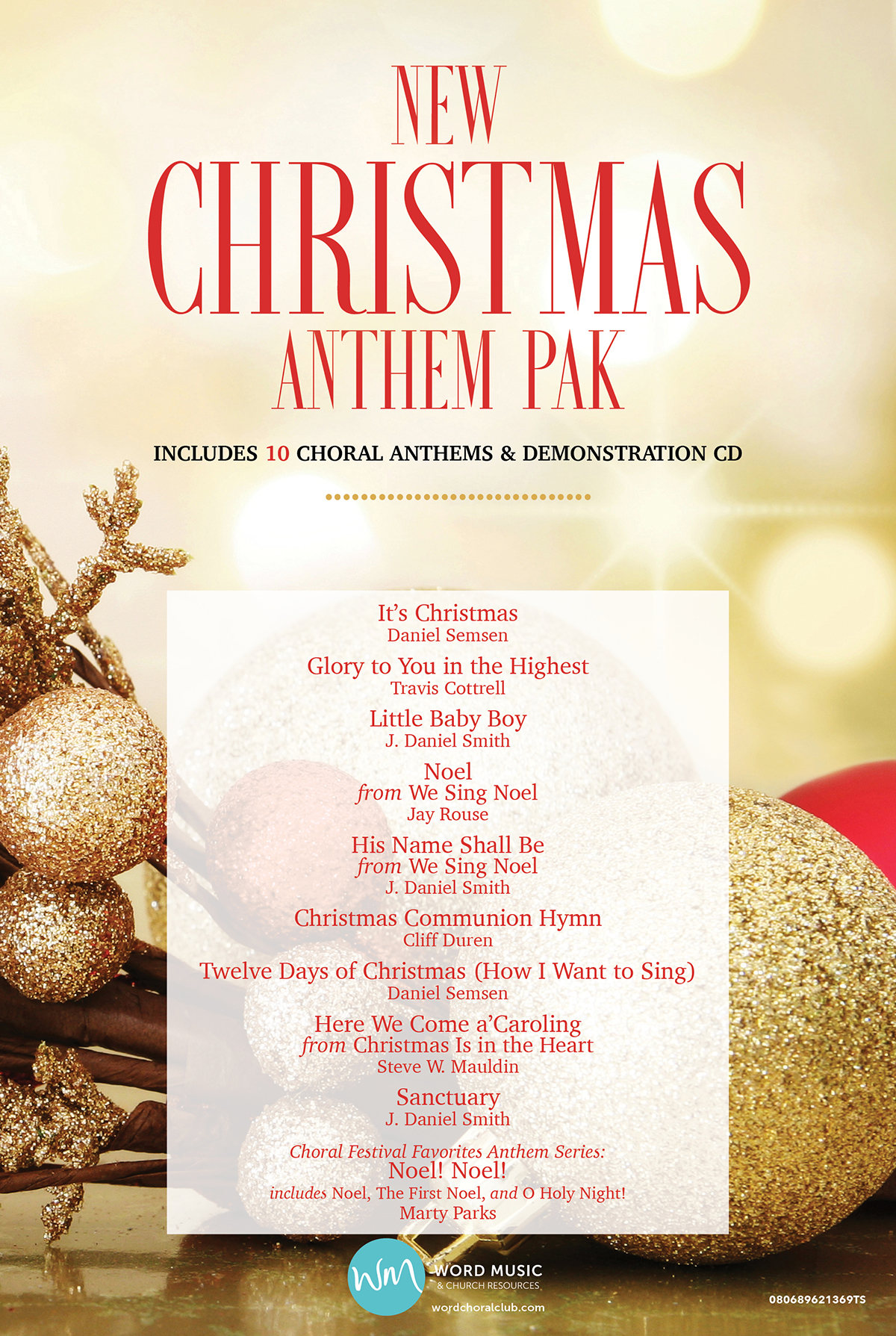 New Christmas Anthem Pak Vol 1
