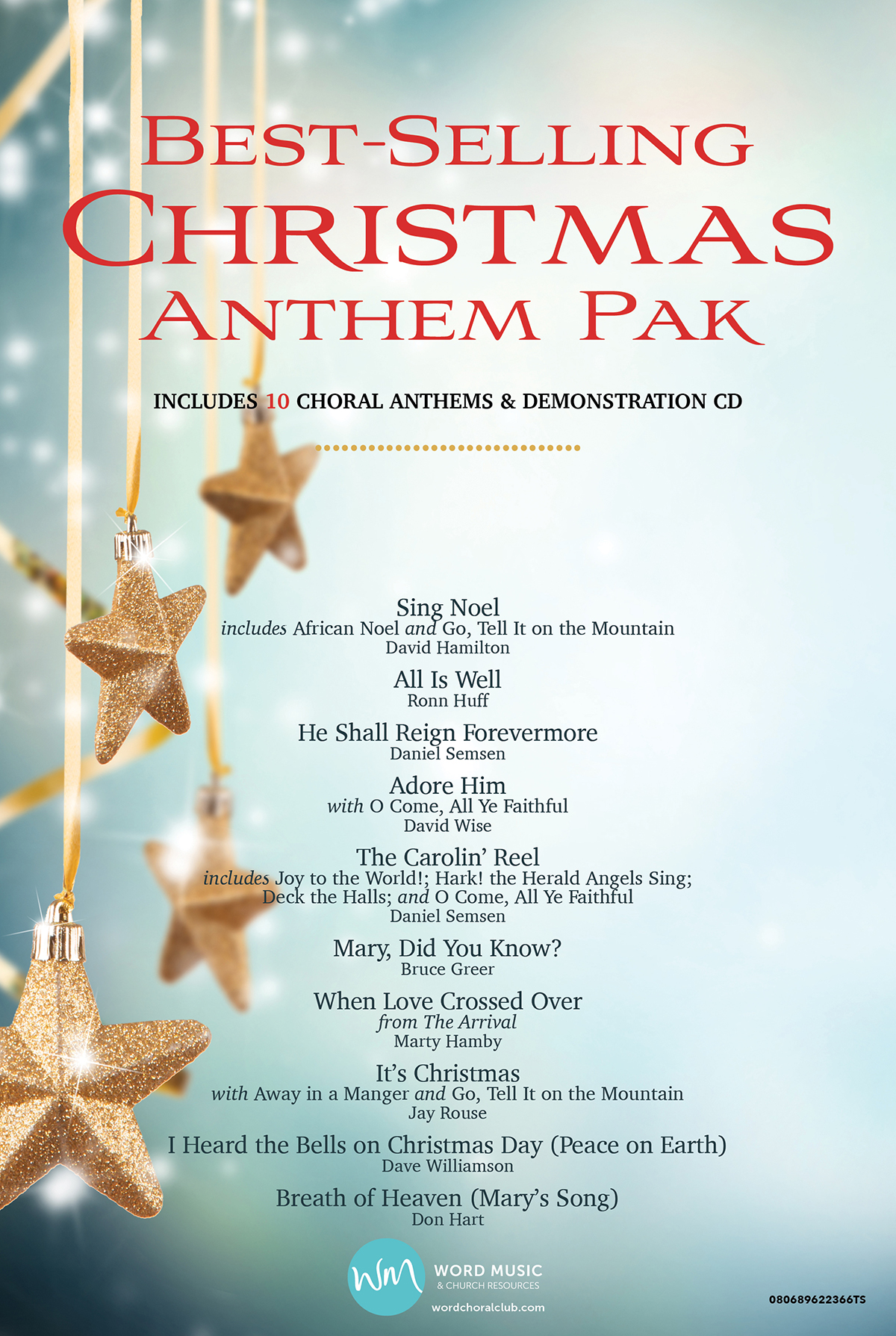 Best-Selling Christmas Anthem Pak Vol 1