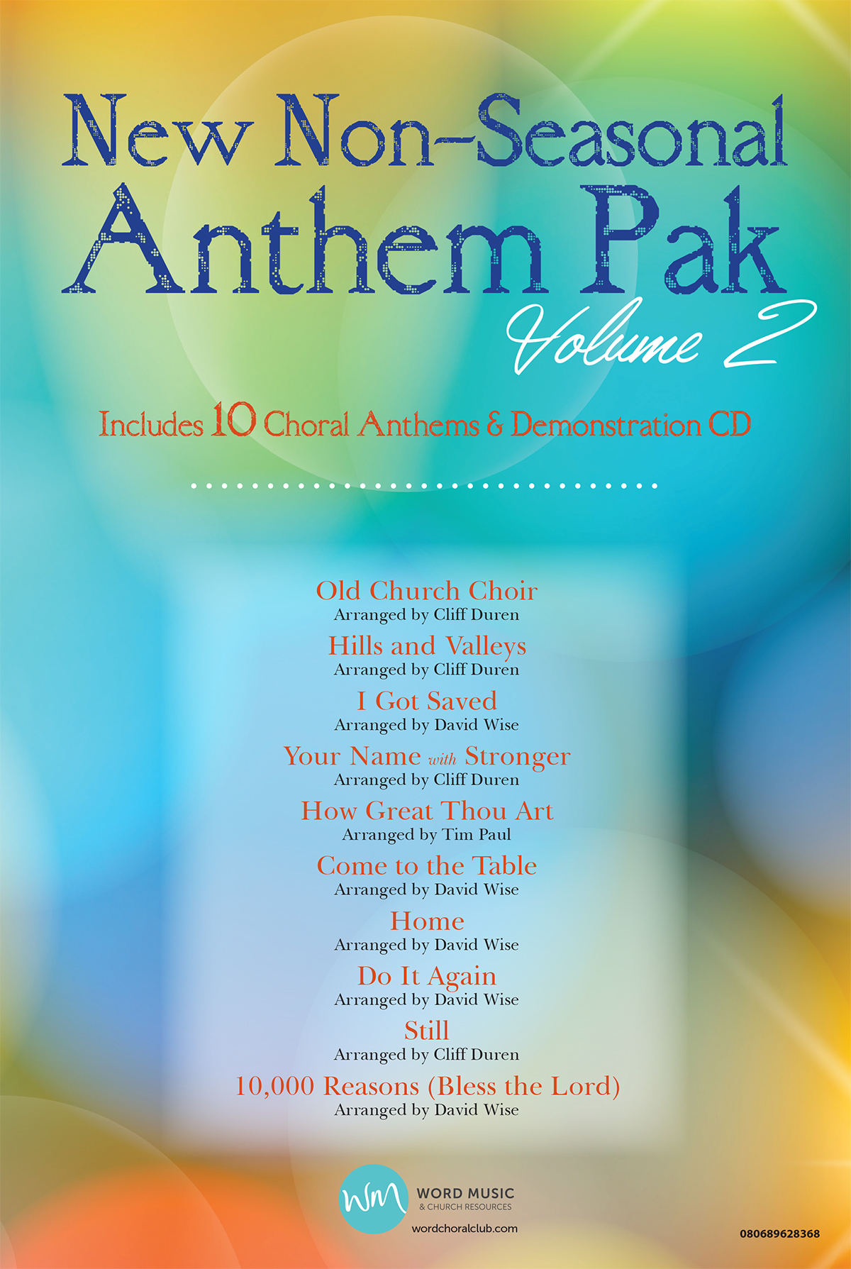 New Non-Seasonal Anthem Pak, Vol 2