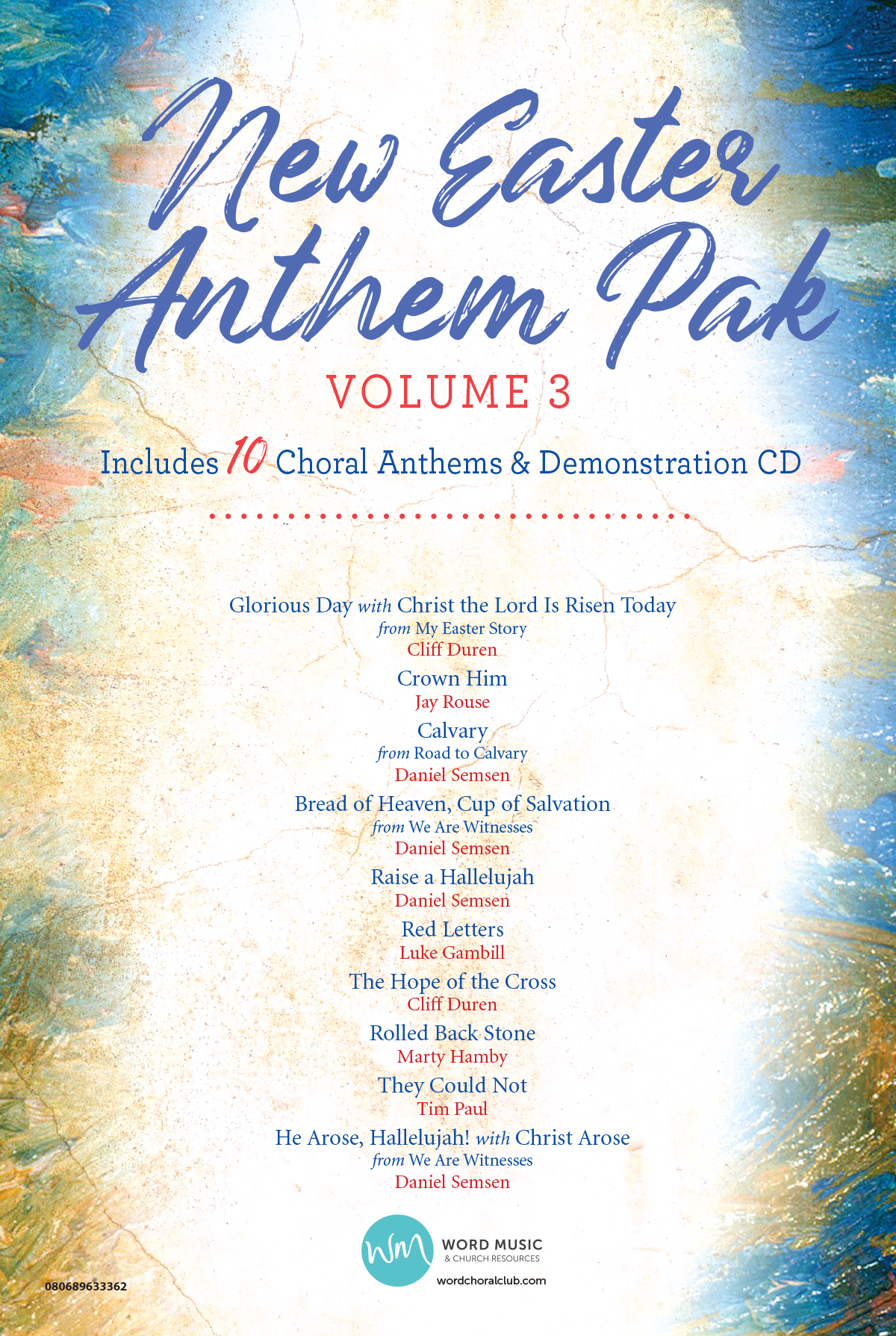 New Easter Anthem Pak Vol 3