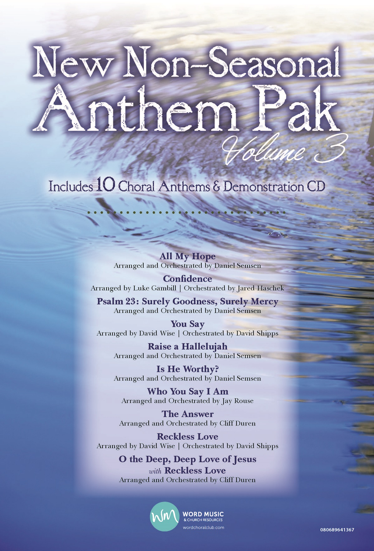 Anthem Preview Pak - New Non-Seasonal Volume 3