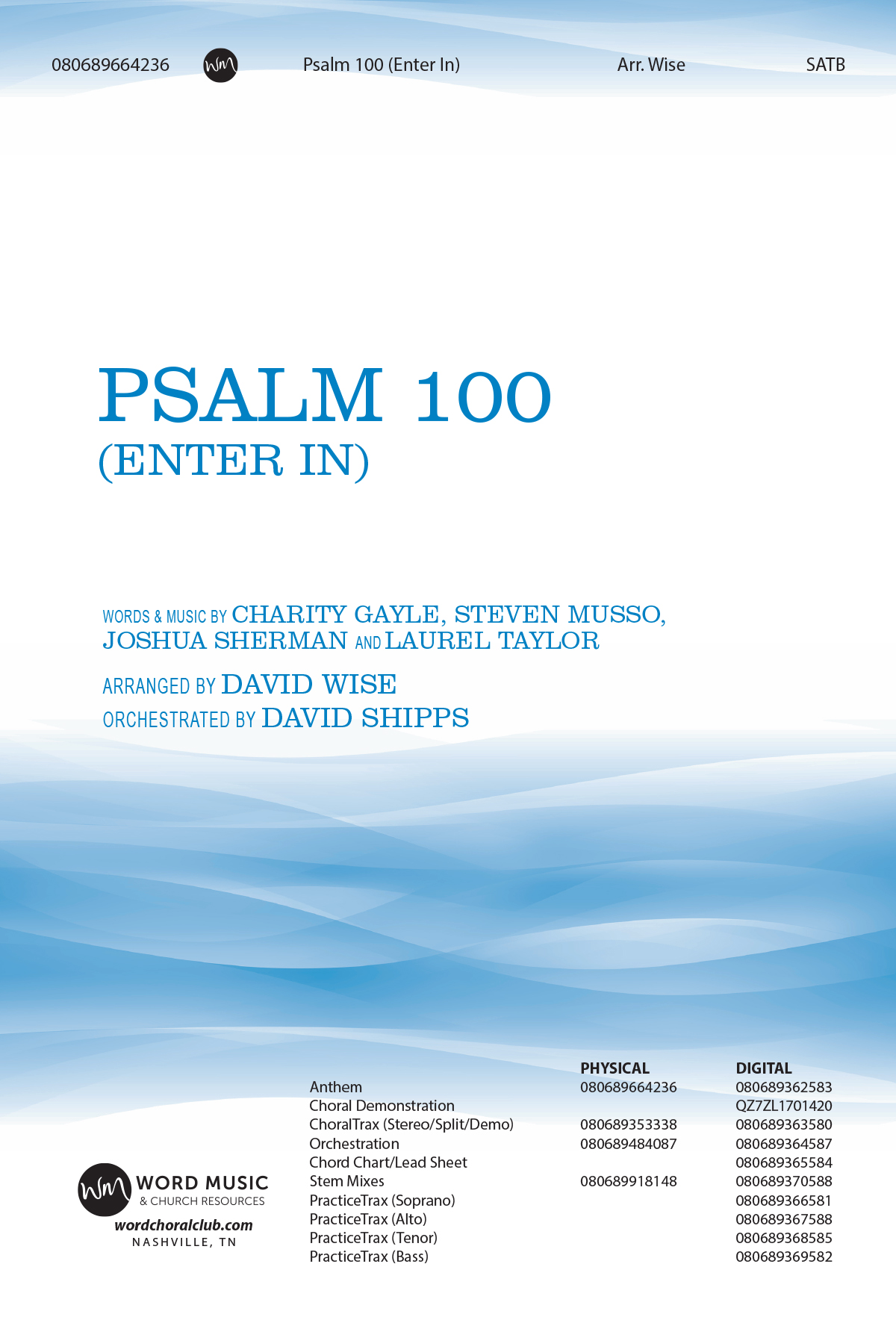 Psalm 100 (Enter In)