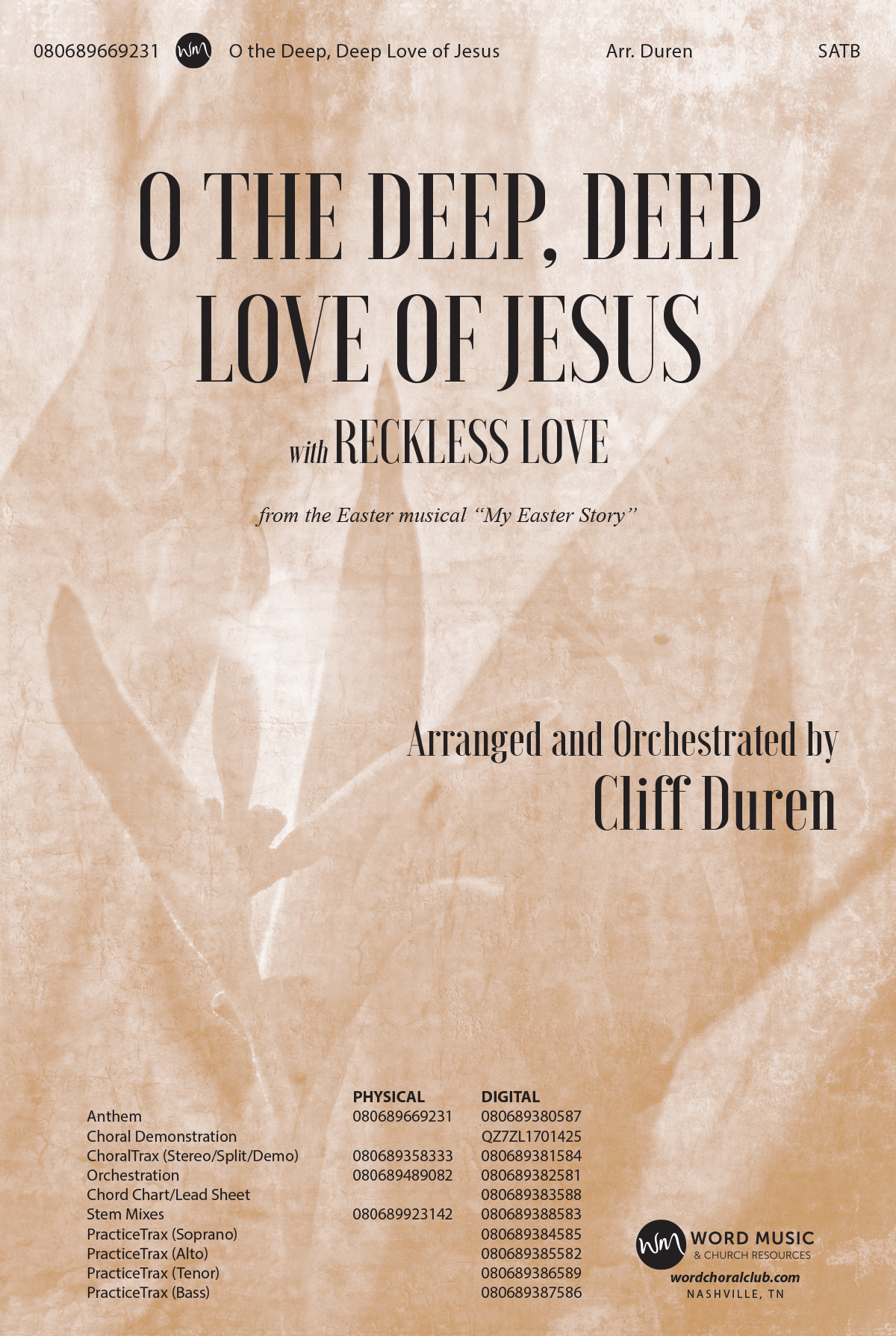 O the Deep, Deep Love of Jesus with Reckless Love