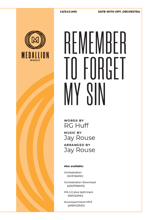 Remember to Forget My Sin